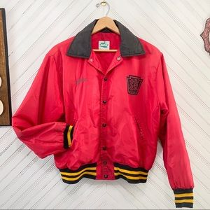 Vintage 80s Bomber Varsity Jacket